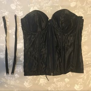 Fredricks of Hollywood bustier corset